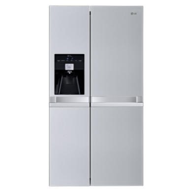 GSL545NSYZ LG GSL545NSYZ Non-plumbed American Fridge Freezer With Ice And Water Premium Steel