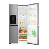 LG GSL760PZXV Frost Free Side-by-side American Fridge Freezer - Shiny Steel