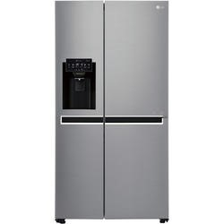 LG GSL761PZXV Side-by-side American Fridge Freezer With Non-plumb Ice & Water Dispenser Shiny Steel