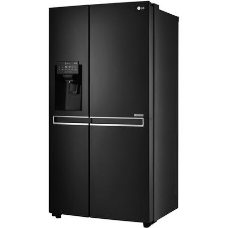 GRADE A2 - LG GSL761WBXV Side-by-side American Fridge Freezer With Non-plumb Ice & Water Dispenser Black