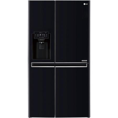 lg gsl761wbxv frost free side by side american fridge freezer with ice water dispenser black. Black Bedroom Furniture Sets. Home Design Ideas