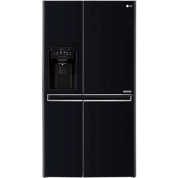 LG GSL761WBXV Side-by-side American Fridge Freezer With Non-plumb Ice & Water Dispenser Black