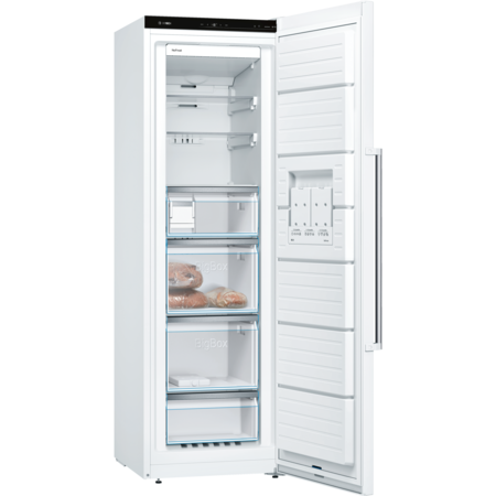 Bosch Serie 6 GSN36AW3PG 186x60cm 242L No Frost Freestanding Upright Freezer - White