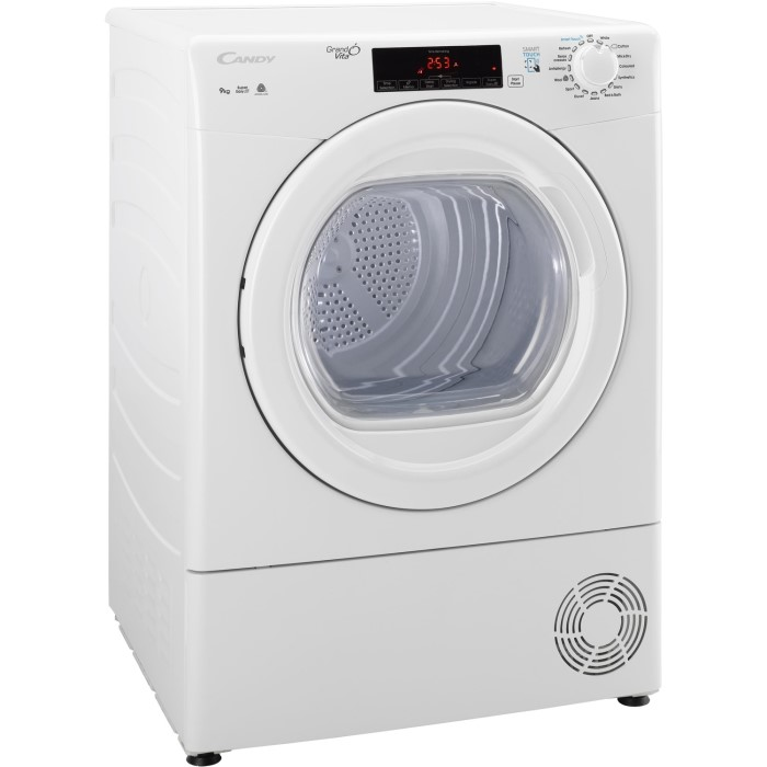 Candy Gsvc9tg 9kg Freestanding Condenser Tumble Dryer White