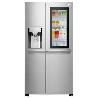 LG GSX960NSVZ InstaView Door-in-door Multi-door American Fridge Freezer With Ice & Water Dispenser - Best Price, Cheapest Prices