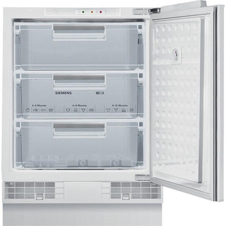 Siemens GU15DA50GB iQ100 60cm Wide Integrated Upright Under Counter Freezer - White