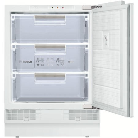 Bosch Serie 6 GUD15A50GB Classixx 60cm Wide Integrated Upright Under Counter Freezer - White