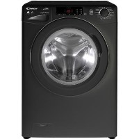 Candy GVCSW485TBB 8kg Wash 5kg Dry Freestanding Washer Dryer - Black