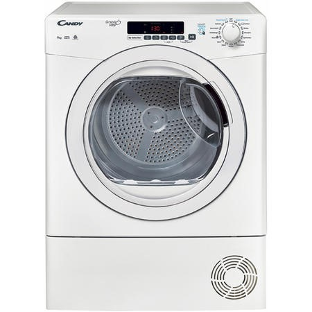 Candy GVSC9DG-80 9kg Freestanding Condenser Tumble Dryer - White