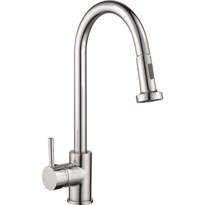 Taylor Moore Pull Down Spray Kitchen Sink Tap Polished Chrome