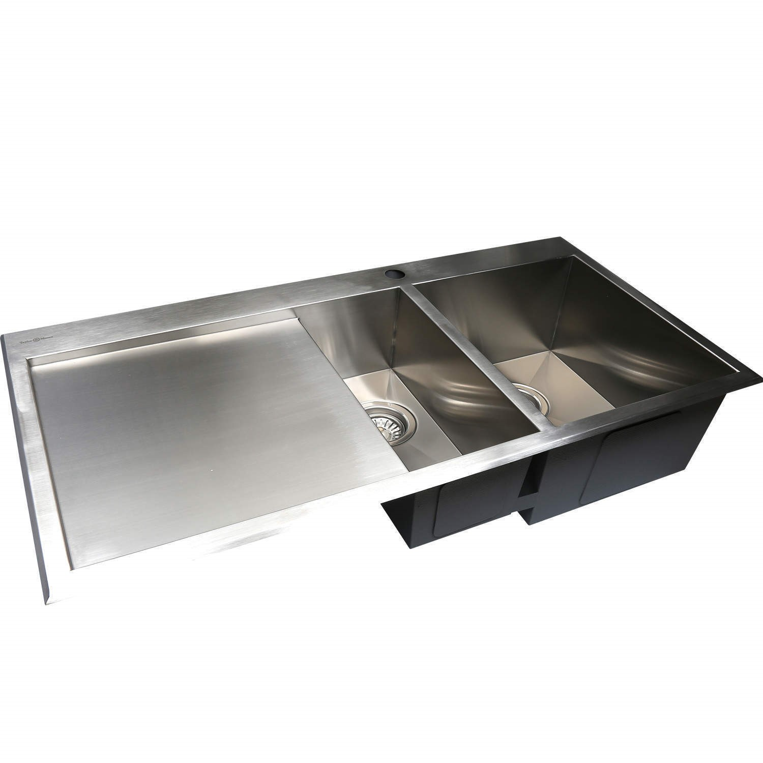 Taylor Amp Moore Square 1 5 Bowl Left Hand Drainer Stainless