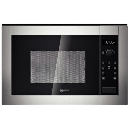 Neff H11WE60N0G 800W 20L Built-in Microwave Oven Stainless Steel For 60cm Wide Cabinet
