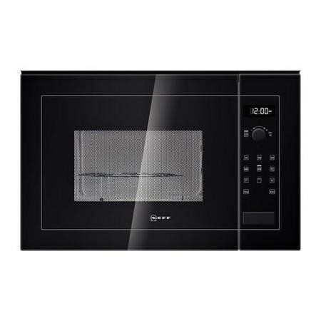 Neff H12GE60S0G 900W 25L Built-in Microwave With Grill Black