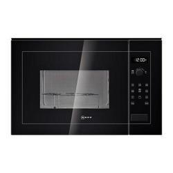 Neff H12GE60S0G 900W 25L Built-in Microwave Oven With Grill For A 60cm Wide Cabinet Black