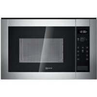 GRADE A3  - Neff H12WE60N0G 900W 25L Built-in Microwave Oven Stainless Steel