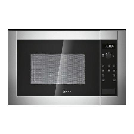 Neff H12WE60N0G 900W 25L Built-in Standard Microwave Stainless Steel