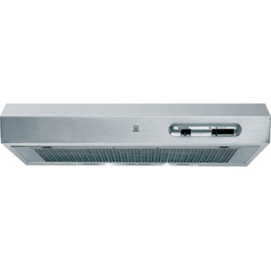 Indesit H161IX 60cm wide Conventional Cooker Hood Stainless Steel