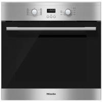 Miele H2161-1Bclst EasyControl 7 Function Electric Built-in Single Oven CleanSteel