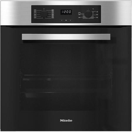 Miele Discovery H2265B A+ Rated Built In Large Capacity Single Oven - Clean Steel