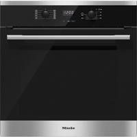 Miele H2561B EasyControl 7 Function Electric Built-in Single Oven CleanSteel