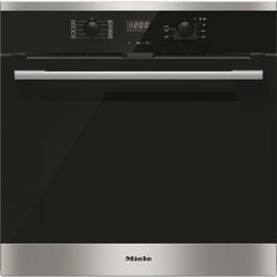 Miele H2566BPCLST Campaign EasyControl 7 Function CleanSteel Electric Built-in Single Oven With Pyrolytic Cleaning And FlexiClip Rails