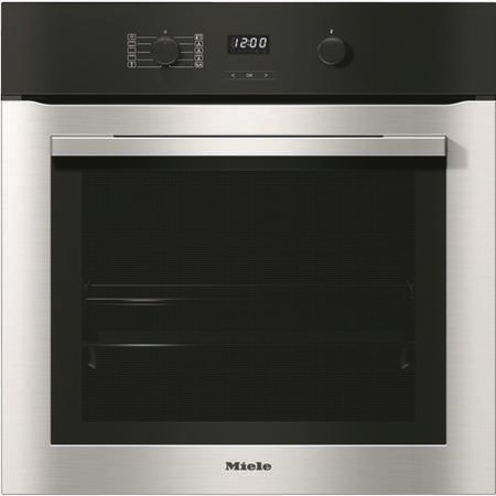 Miele ContourLine Single Oven with Pyrolytic Cleaning - Clean Steel