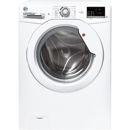 Hoover H3D41062DE1-80 10kg Wash 6kg Dry 1400rpm Freestanding Washer Dryer - White