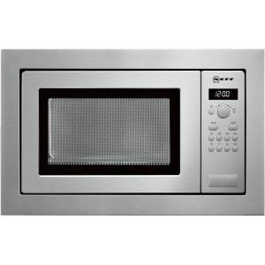 Neff H56W20N3GB 900W 25L Built-in Microwave For 60cm Wide Cabinet - Stainless Steel