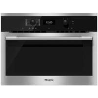 Miele H6300BMclst DirectControl 1000W Multifunction Built-in Combi Microwave Oven CleanSteel
