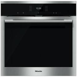 Miele H6560BPclst SensorTronic 11 Function Electric Built-in Single Oven With Moisture Plus And Pyrolytic Cleaning CleanSteel