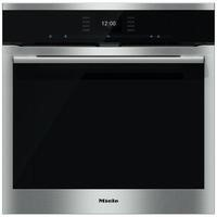 GRADE A2 - Miele H6560BPclst SensorTronic 11 Function Electric Built-in Single Oven With Moisture Plus And Pyrolytic Cleaning CleanSteel