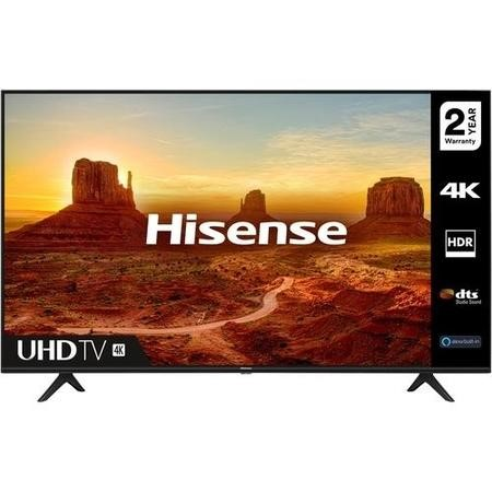 "Hisense 65A7100FTUK 65"" 4K Ultra HD HDR Smart TV with Freeview Play and Alexa Built-in"