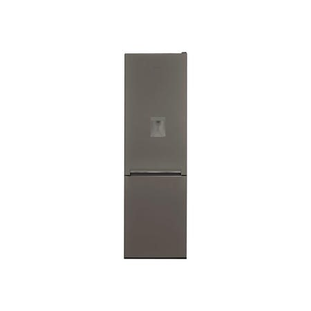Hotpoint H8A1ESBWTD 189x60cm Low Frost Freestanding Fridge Freezer With In-door Water Dispenser - Silver And Black