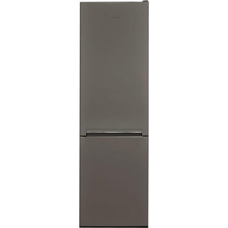 Hotpoint H8A1ESB 189x60cm Low Frost Freestanding Fridge Freezer - Silver And Black