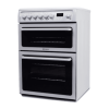 Hotpoint HAE60P 60cm Double Oven Electric Cooker - White