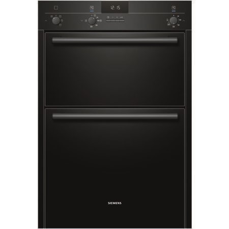 SIEMENS HB13MB621B iQ100 Electric Built In Double Oven In Black