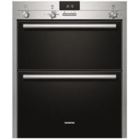 SIEMENS HB13NB521B iQ100 Electric Built Under Double Oven in Stainless steel