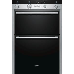 Siemens HB55MB551B iQ500 Electric Built-in Double Oven - Stainless Steel