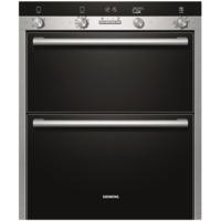 SIEMENS HB55NB550B iQ500 Electric Built Under Double Oven  in Stainless steel
