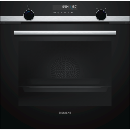 Siemens HB578A0S0B iQ500 Multifunction Built In Single Oven With Pyrolytic Cleaning - Stainless Steel