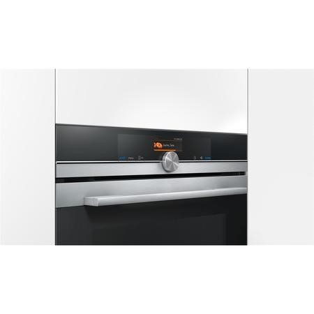 Siemens HB676GBS6B built-in/under single oven Electric Built-in  in Stainless steel