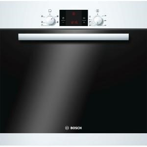 Bosch HBA13B120B Classixx White 3D Hot Air Electric Built-in/under Single Oven