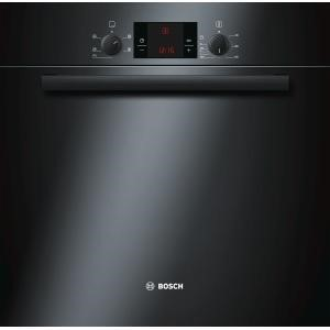 HBA13B160B Bosch HBA13B160B Classixx Black 3D Hot Air Electric Built-in/under Single Oven
