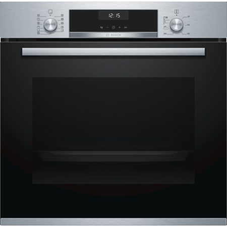 Bosch HBA5570S0B Serie 6 Multifunction Electric Built-in Single Oven With Catalytic Cleaning - Stainless Steel