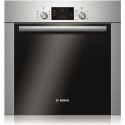 Bosch Display Electric Built-in Single Oven With Pyrolytic Cleaning - Stainless Steel
