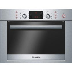 Bosch HBC84E653B Exxcel Built-in Combination Microwave Oven - Brushed Steel