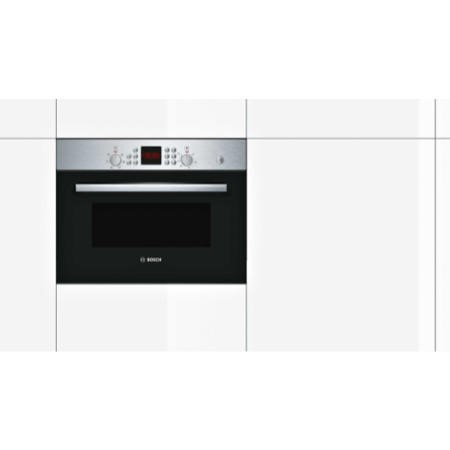 Bosch HBC84H501B Serie 6 Built-in 44L  Combination Microwave Oven Stainless Steel