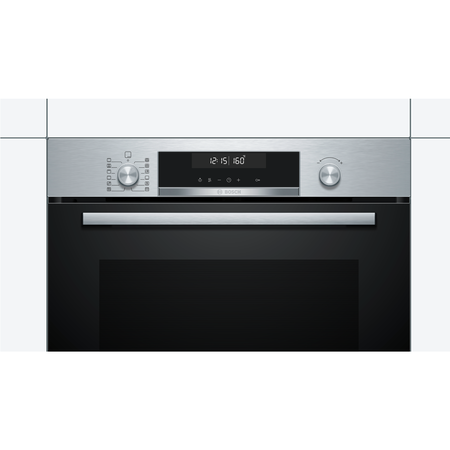 Bosch HBG5785S0B Serie 6 Multifunction Electric Built-in Single Oven With Pyrolytic Cleaning - Stainless Steel