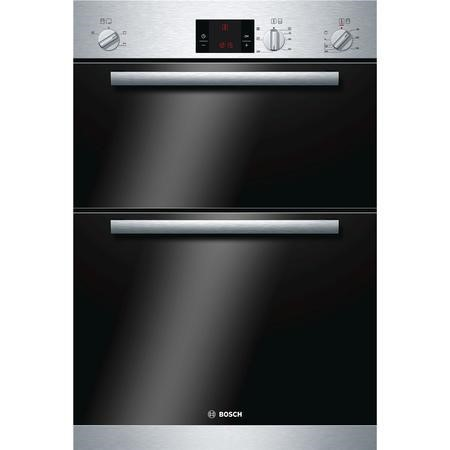 Bosch HBM13B151B Serie 6 Electric Built-in Double Oven Stainless steel
