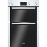 Bosch HBM13B221B Classixx Electric Built-in Double Fan Oven - White